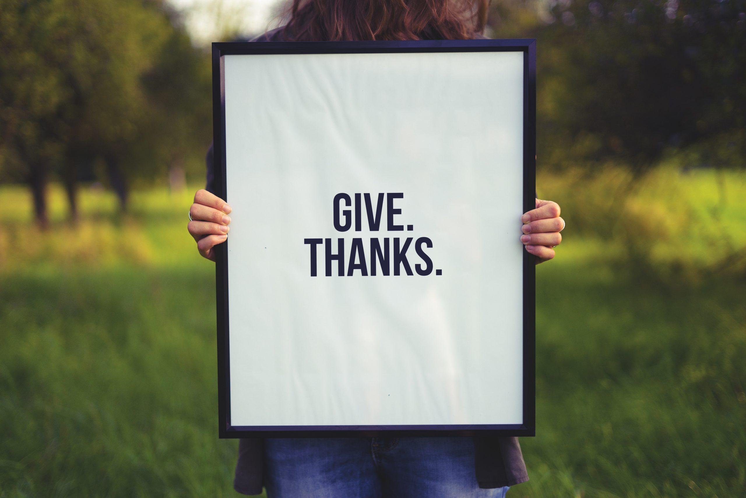 Grumbling or Gratitude