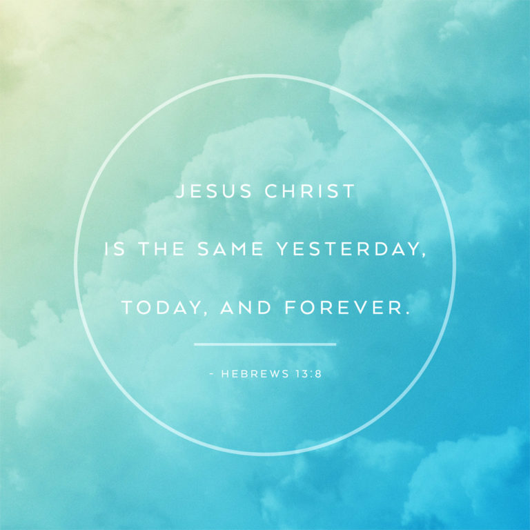Jesus Is the Same
