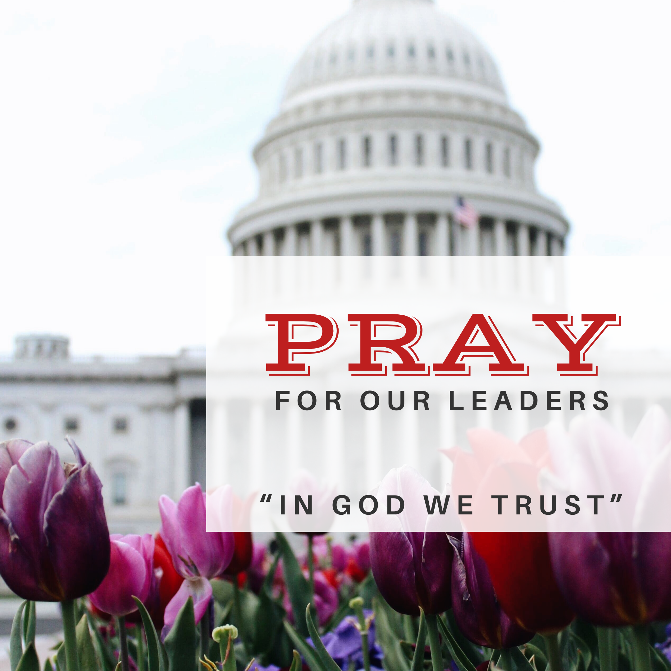 Read more about the article Pray For Our Leaders